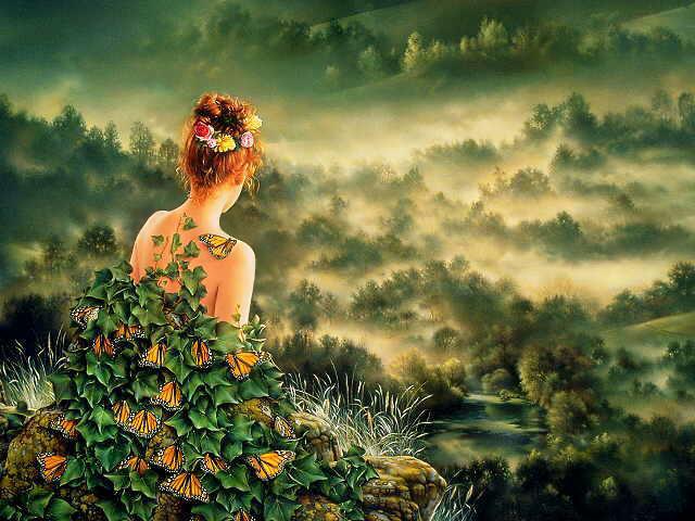 Jean Paul Ebiss - Przebudzenie leśnicy